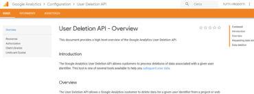 user deletion api